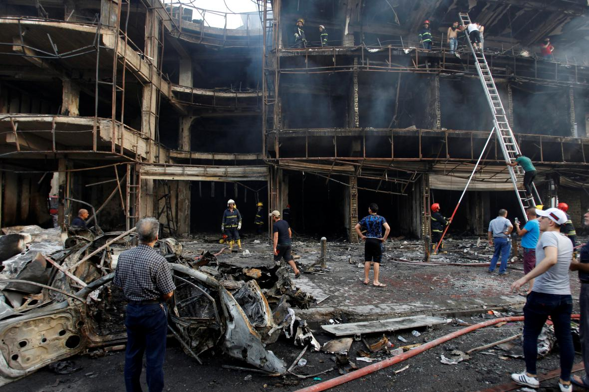 Exploze v Bagdádu
