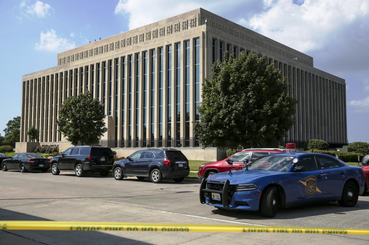 Střelba v soudní budově ve městě St. Joseph v Michiganu