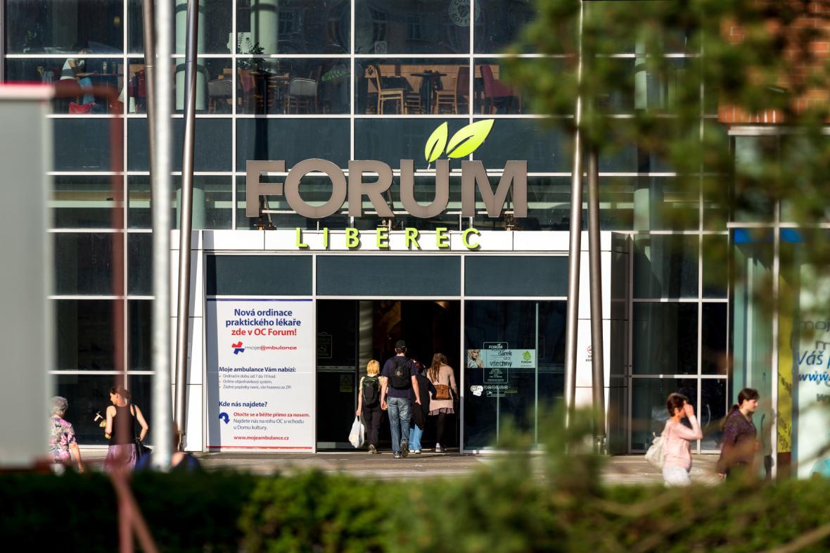 Obchodní centrum Forum v Liberci