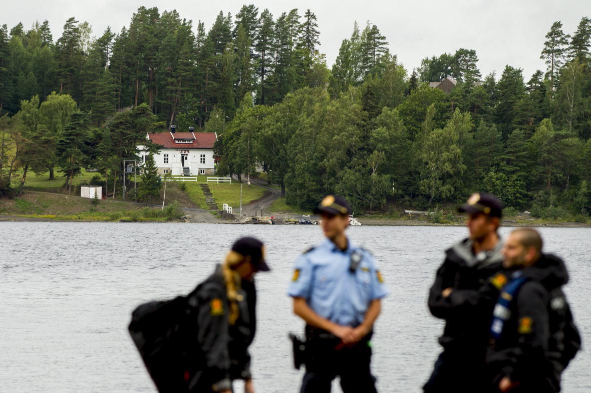 Policie o ostrova Utöya