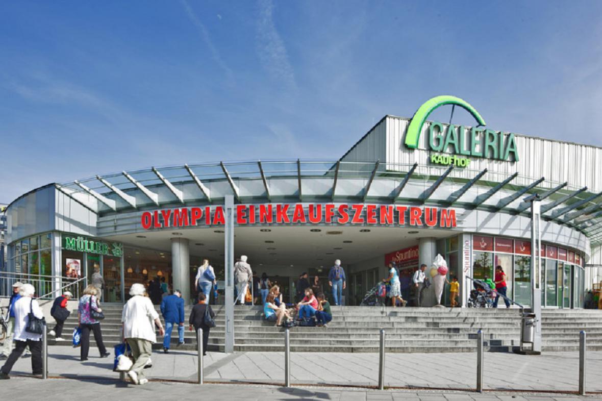 Mnichovské nákupní centrum Olympia