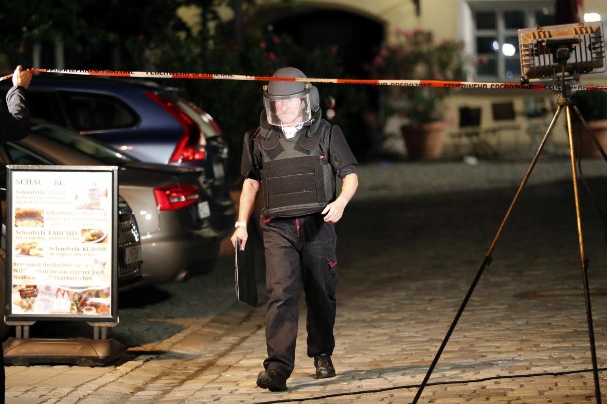 Speciální policejní jednotka v Ansbachu