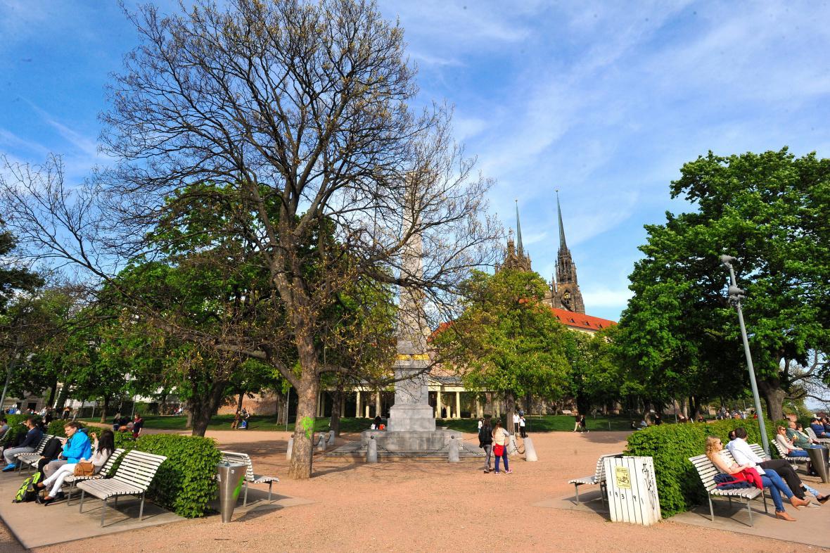 Mezi nejoblíbenější místa v Brně patří Denisovy sady