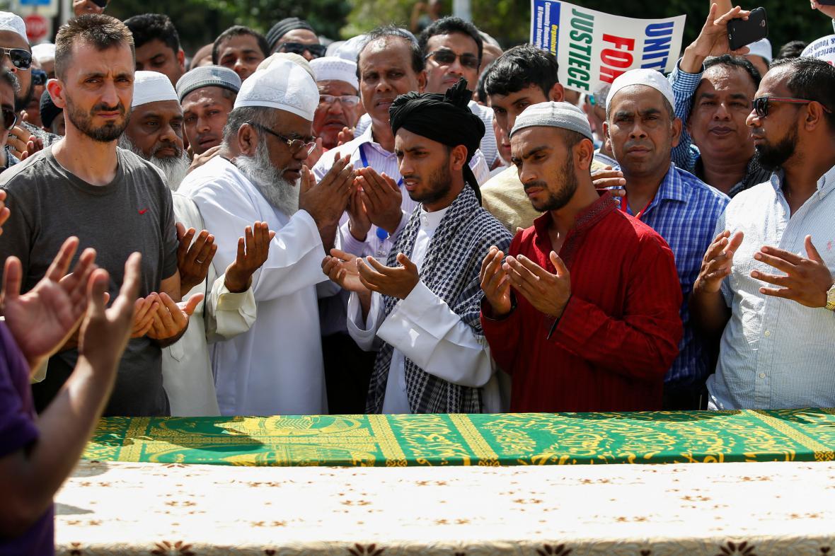 Pohřeb newyorského imáma