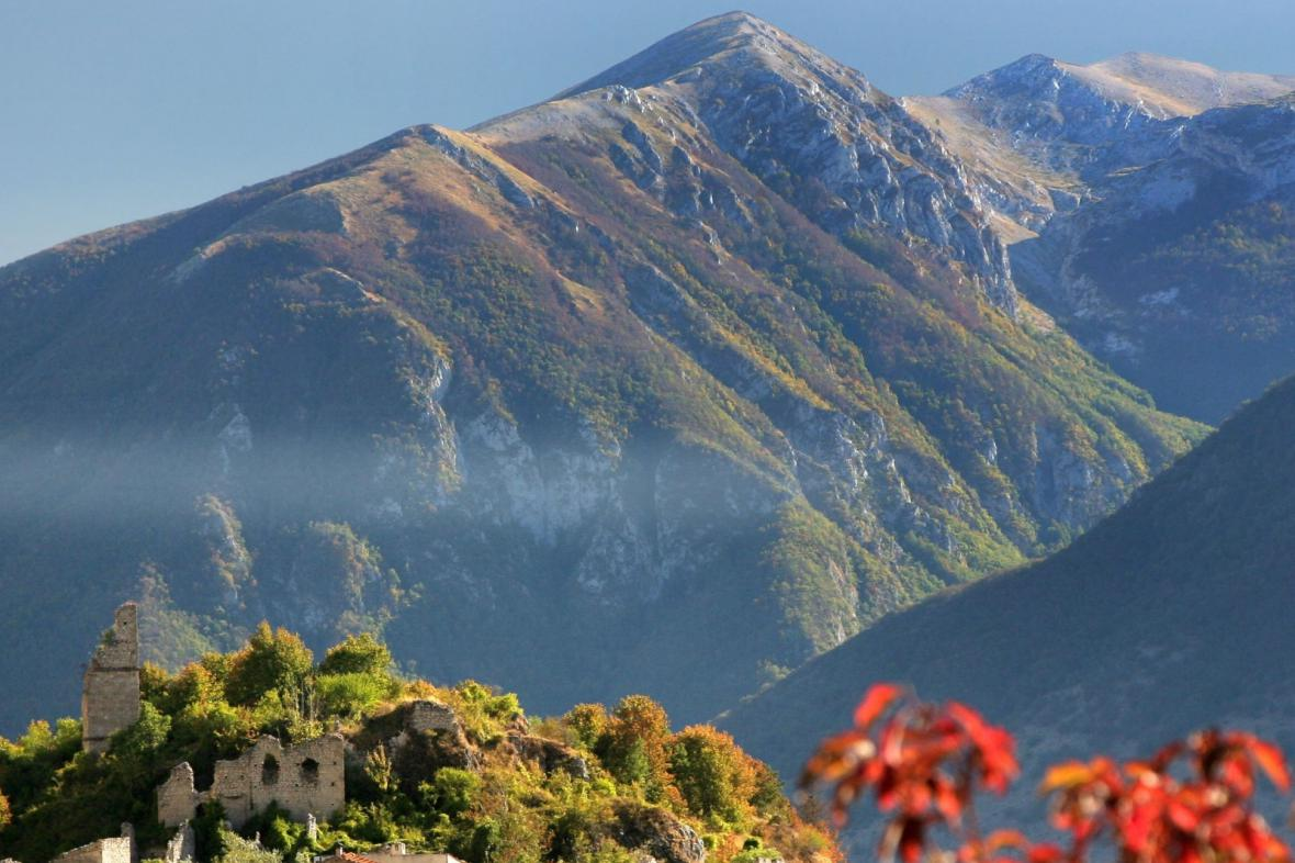 Pohoří v kraji Abruzzo