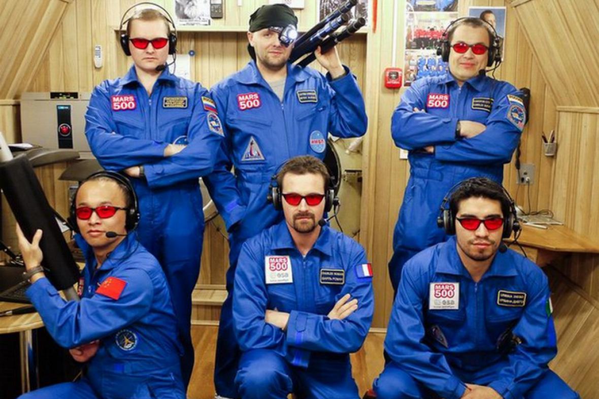 Posádka mise Mars-500