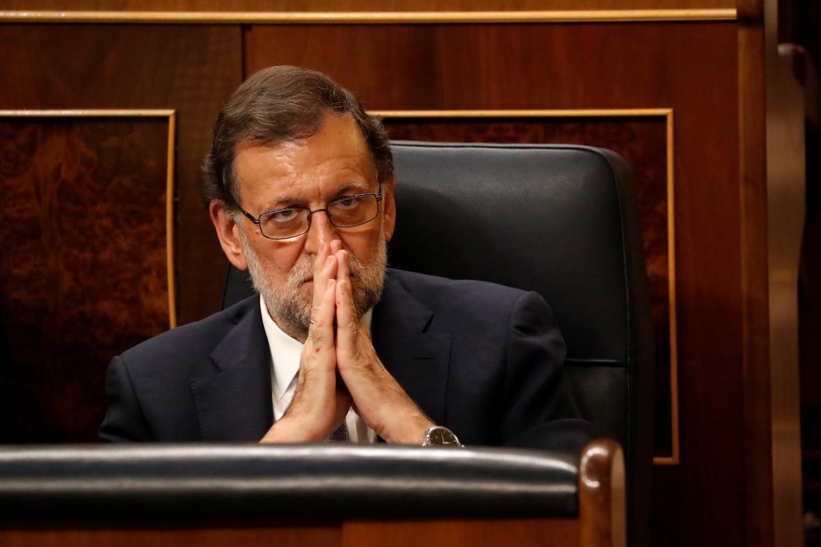Mariano Rajoy znovu odešel ze sněmovny s nepořízenou