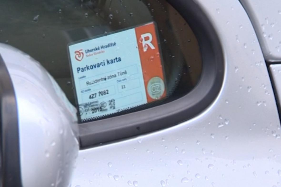 Parkovací karta - novinka v Uherském Hradišti