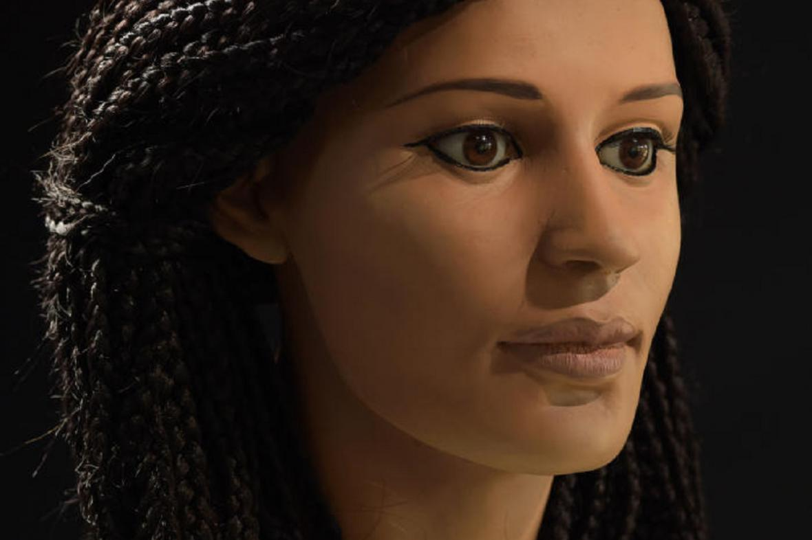 Rekonstrukce egyptské mumie