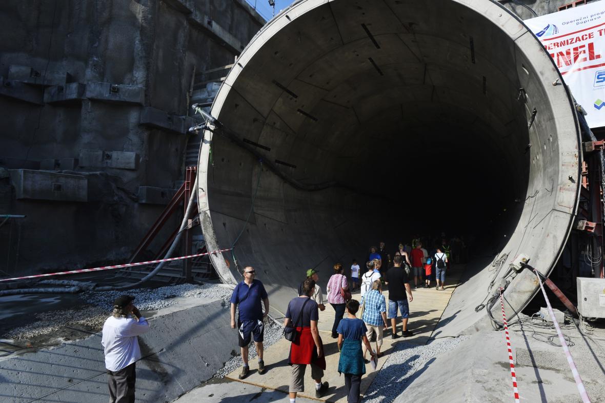 Den otevřených dveří v ejpovickém tunelu