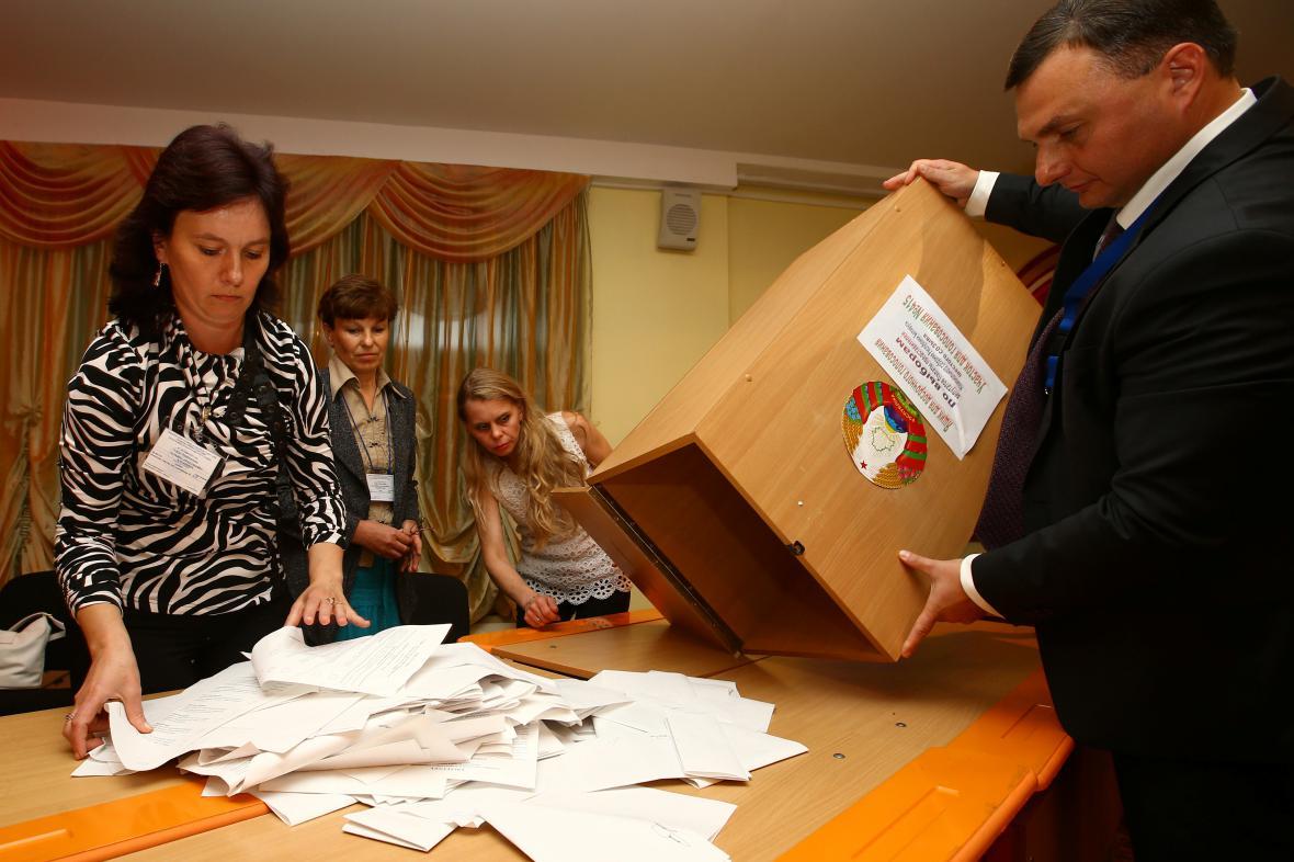 Parlamentní volby v Bělorusku
