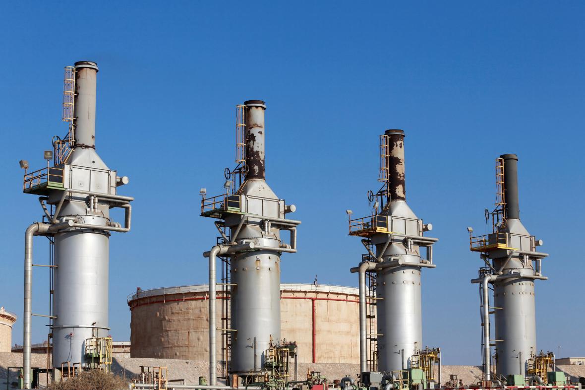 Libyjský ropný terminál Zuvajtína
