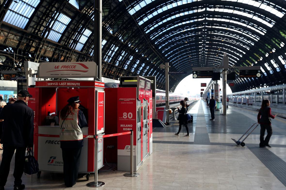 Nádraží v Miláně