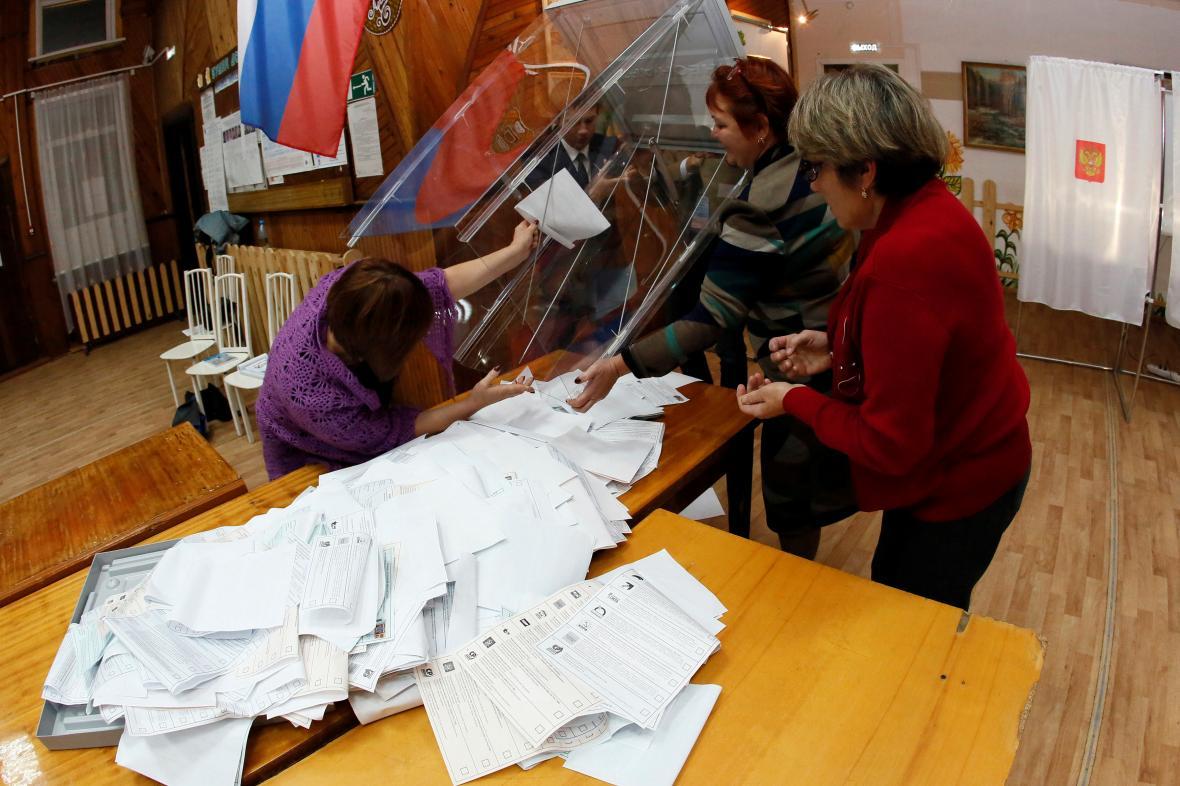 Parlamentní volby v Rusku