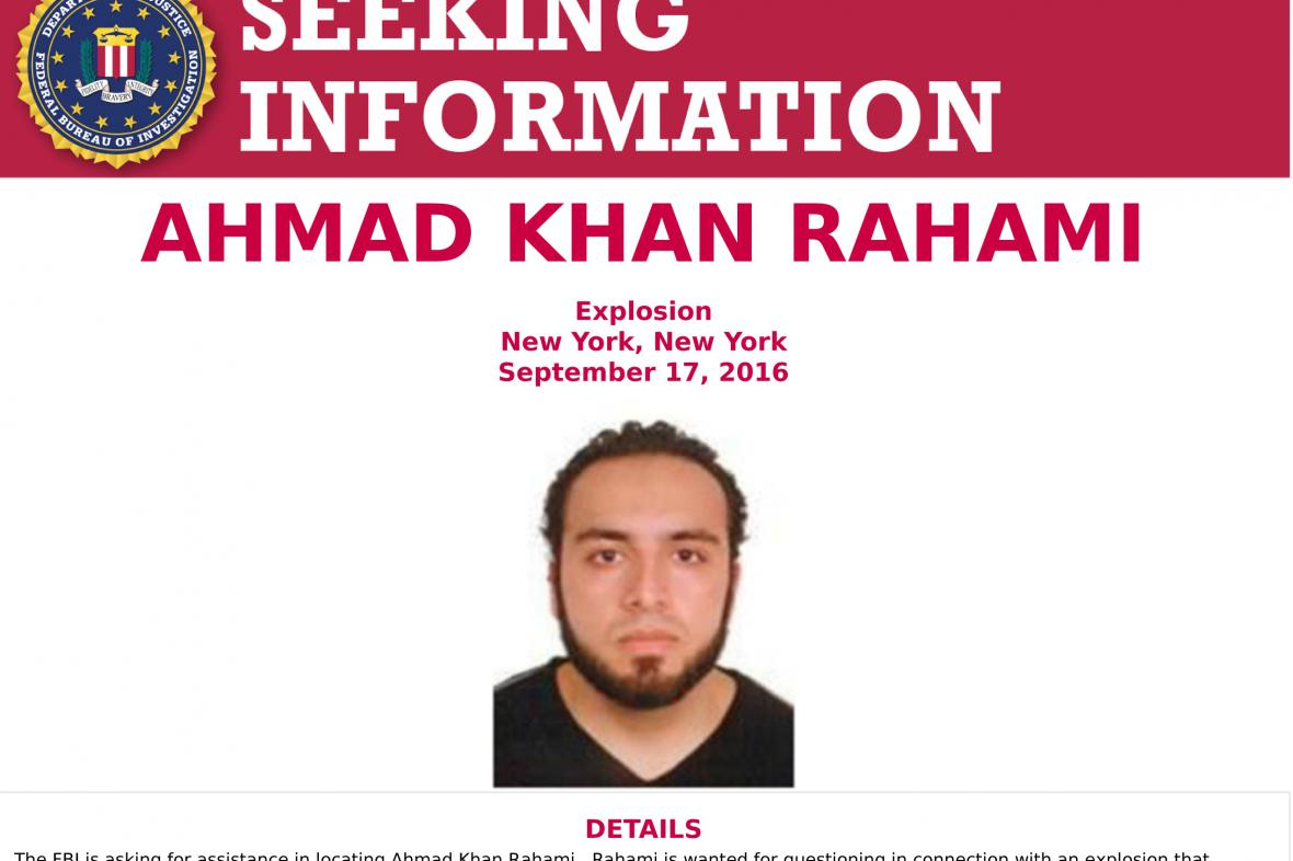 Fotografii Ahmada Khana Rahamiho zveřejnila FBI