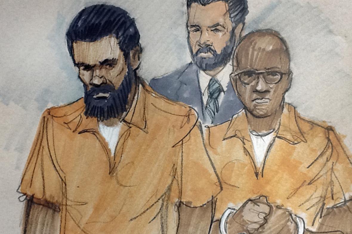 Kresba ze soudního stání