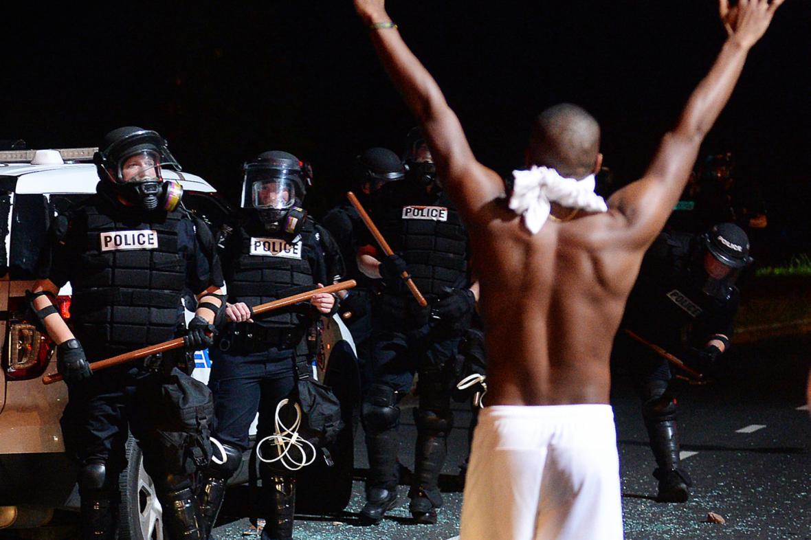 Protesty v Severní Karolíně