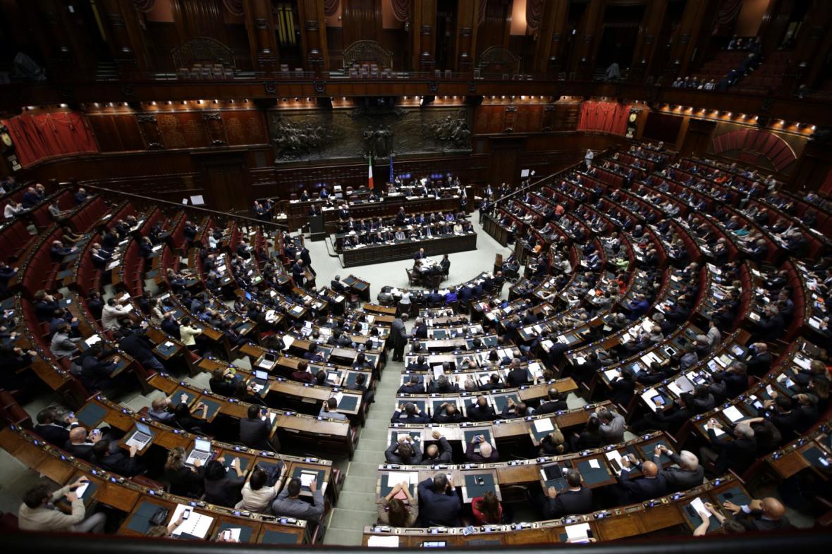 Dolní komora italského parlamentu