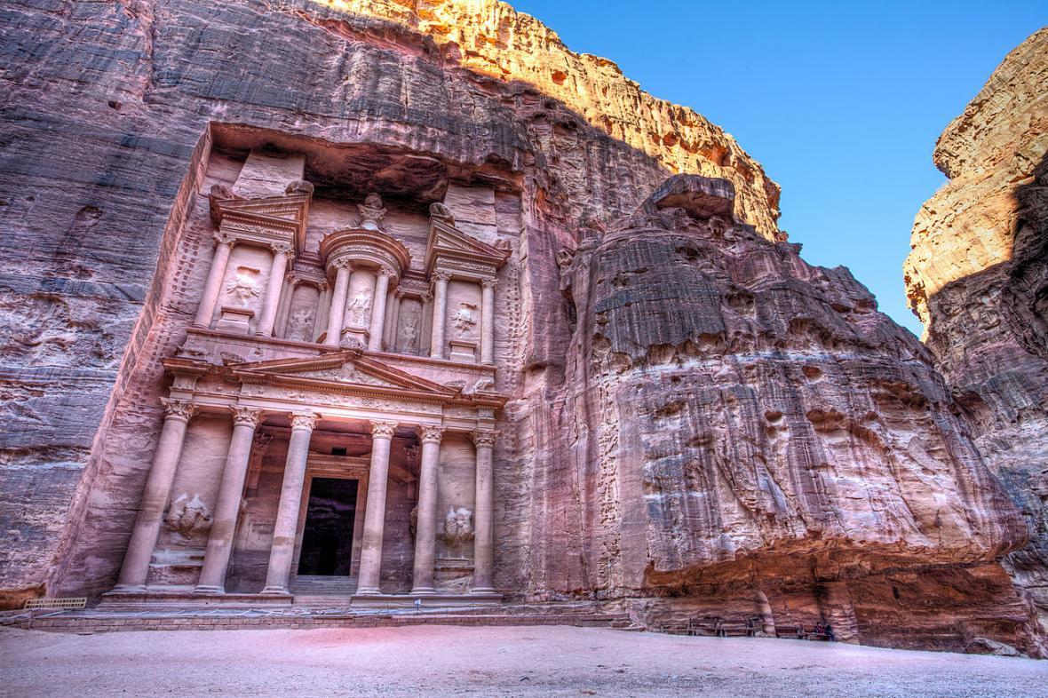 Petra, město bez vody