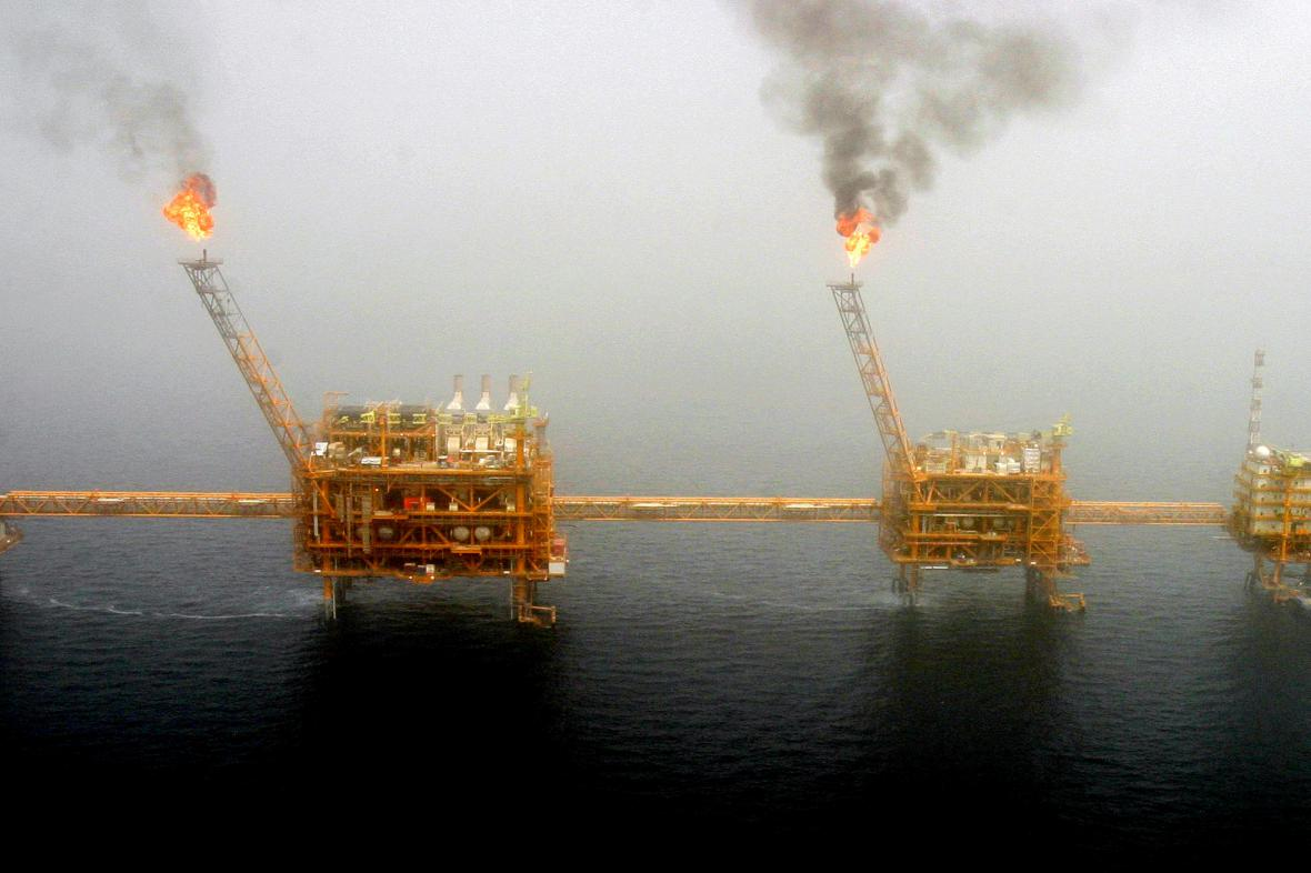 Těžba v Perském zálivu