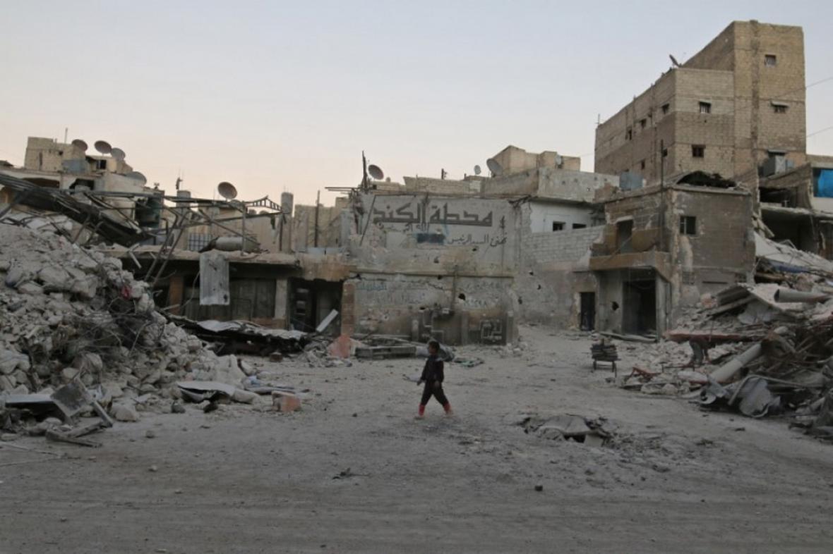 Zkáza v Aleppu