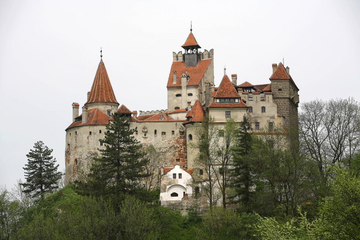 Transylvánský hrad Bran