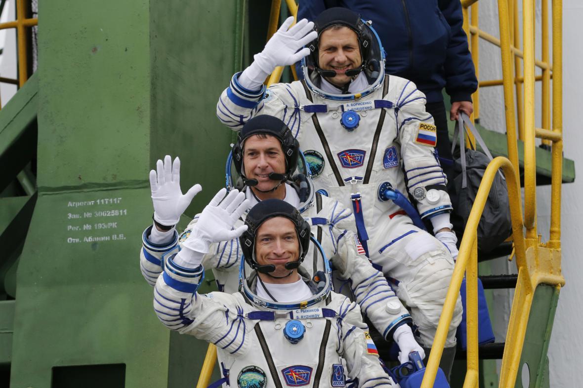 Sergej Ryžikov, Shane Kimbough, Andrej Borisenko