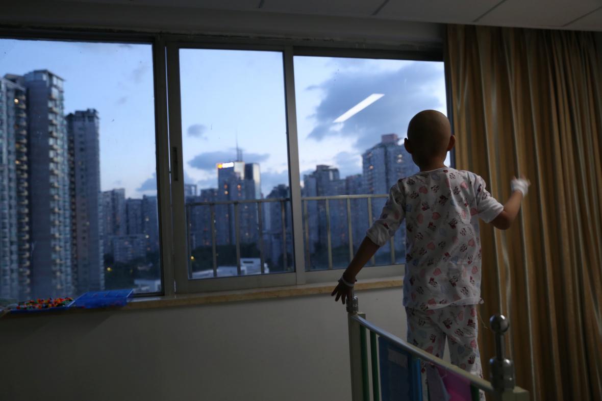 Dítě v nemocnici