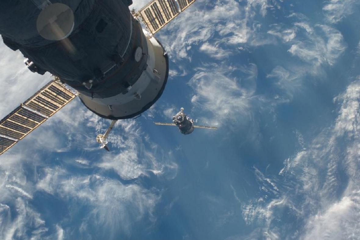 Přiblížení k ISS