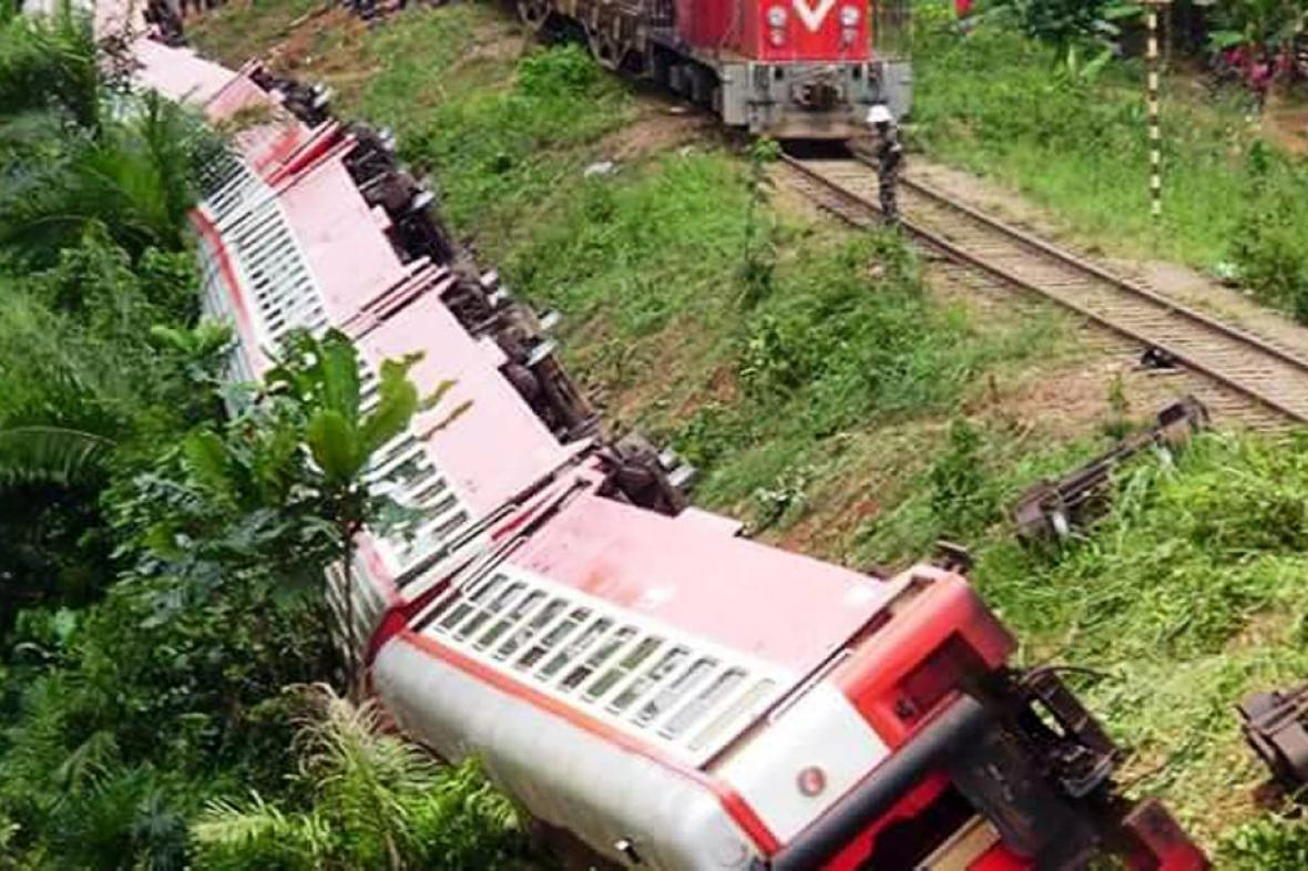 Nehoda vlaku v Kamerunu