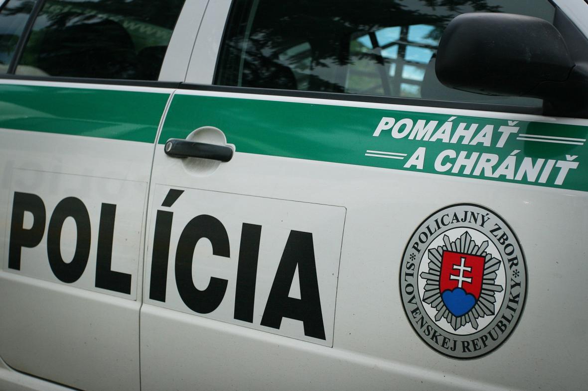 Vůz slovenské policie