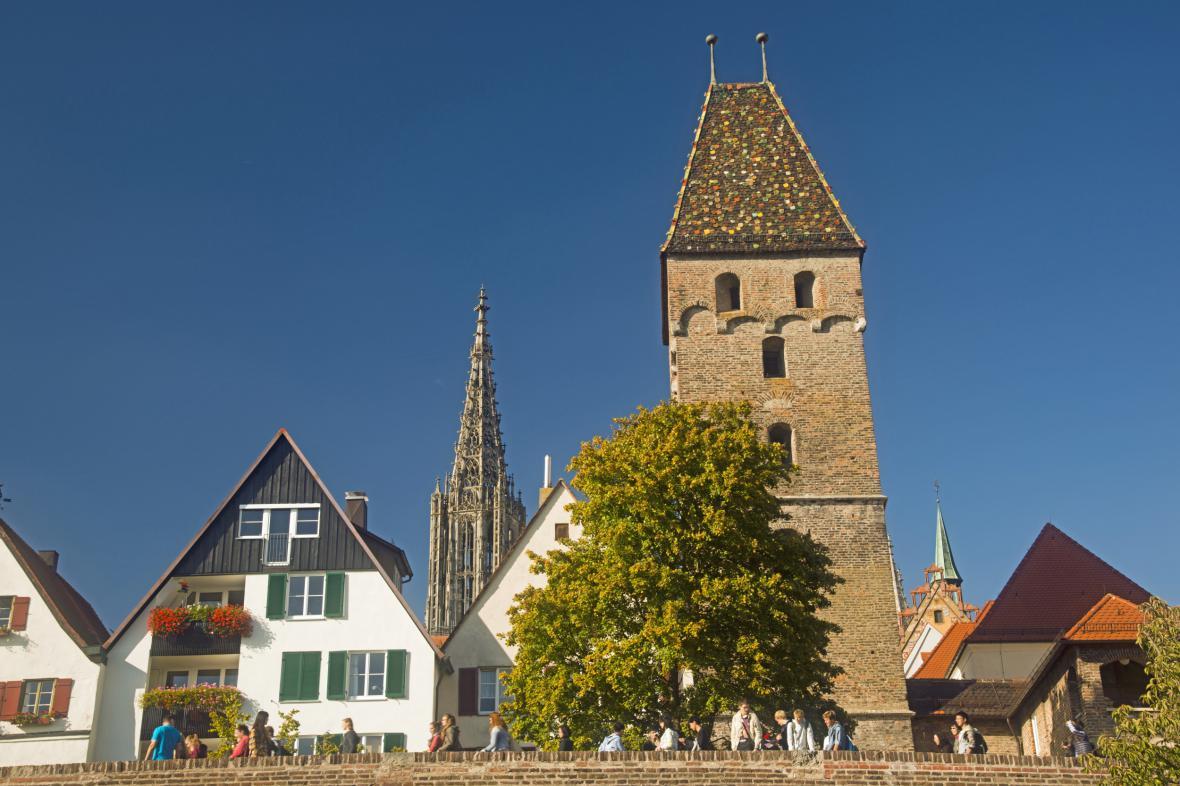 Věž dómu v Ulmu
