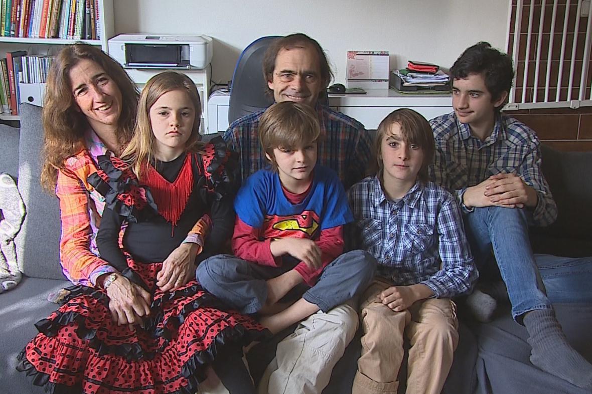 Rodina Zappova je doma všude na světě