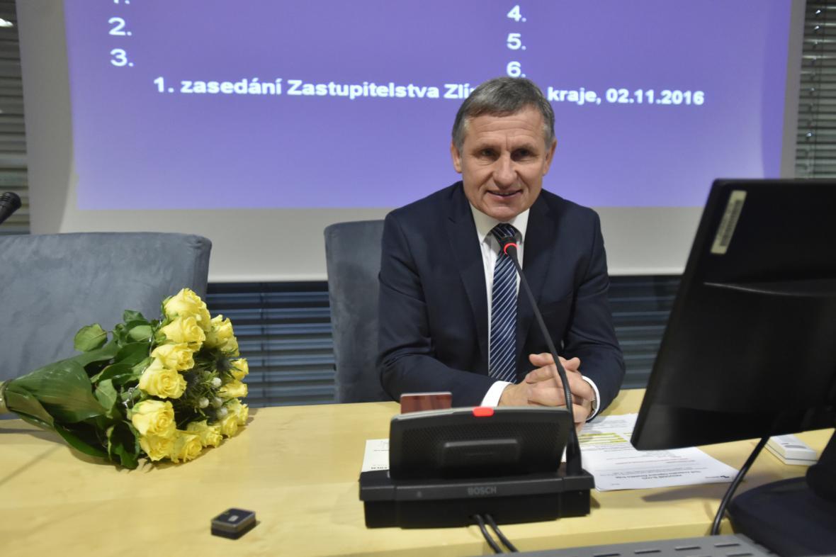 Jiří Čunek na ustavujícím zasedání zastupitelstva Zlínského kraje