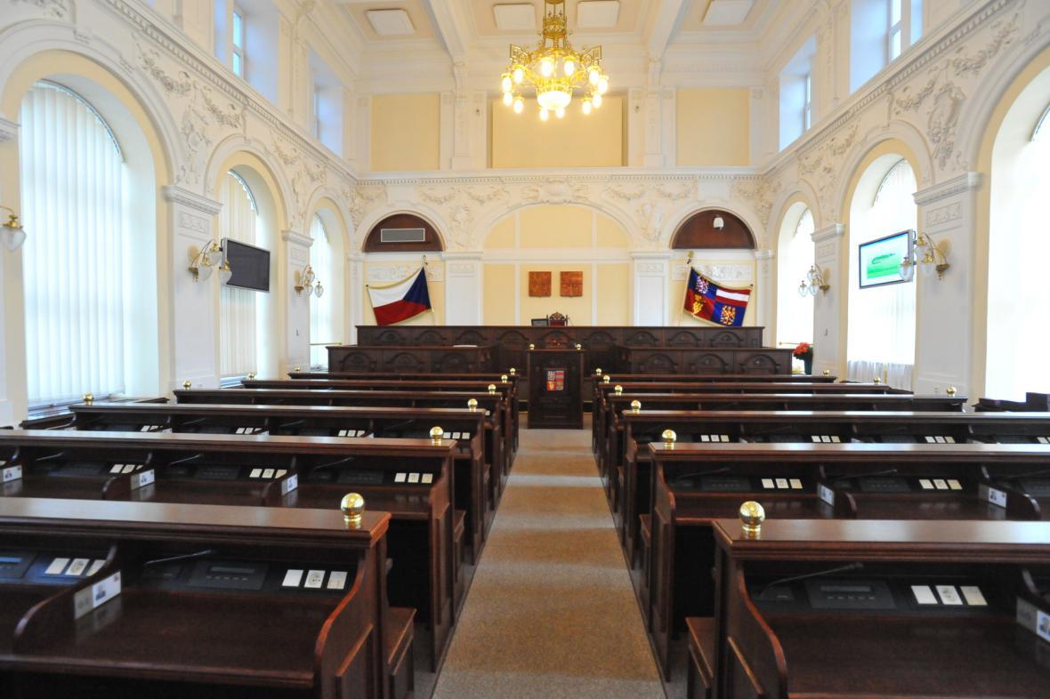 Nové jihomoravské zastupitelstvo se ve sněmovním sále sejde poprvé 16. listopadu