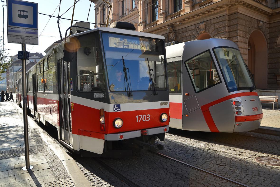 Městská hromadní doprava v Brně