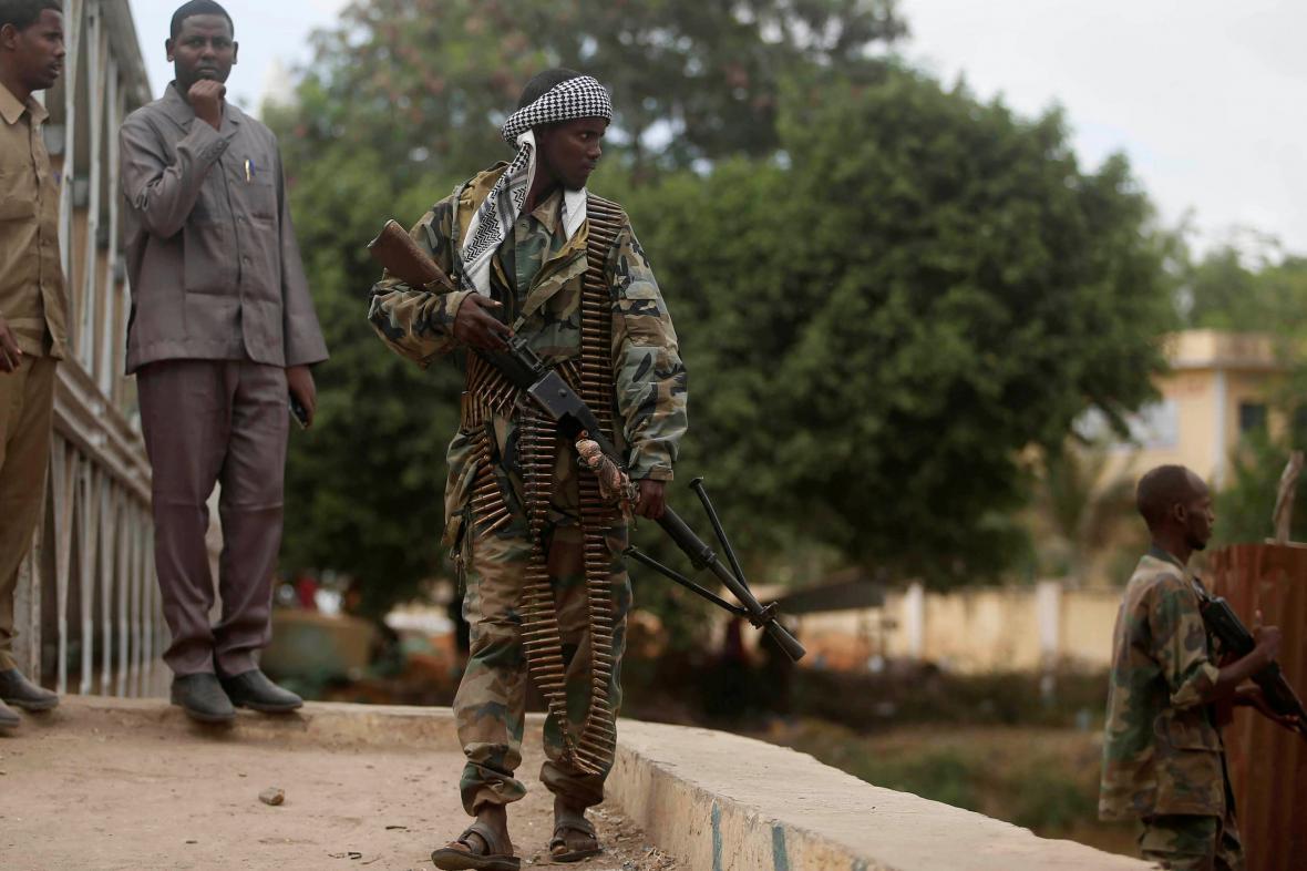 Somálský voják