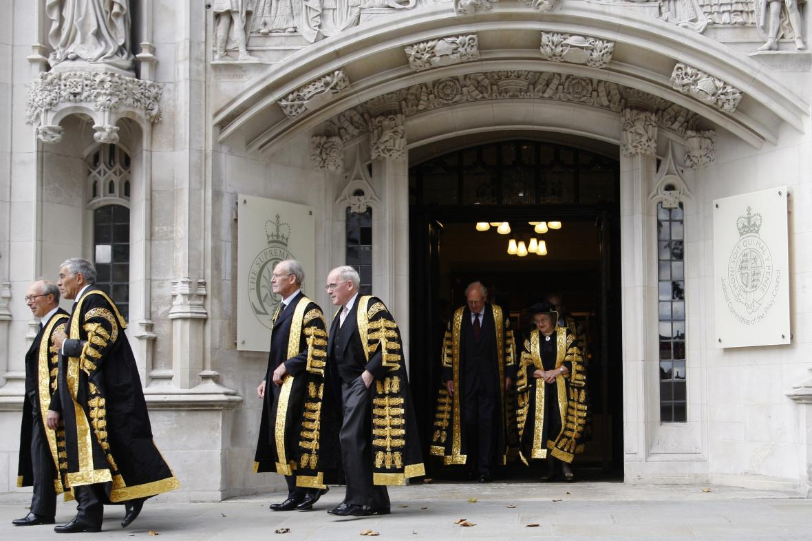 Nejvyšší soud v Londýně