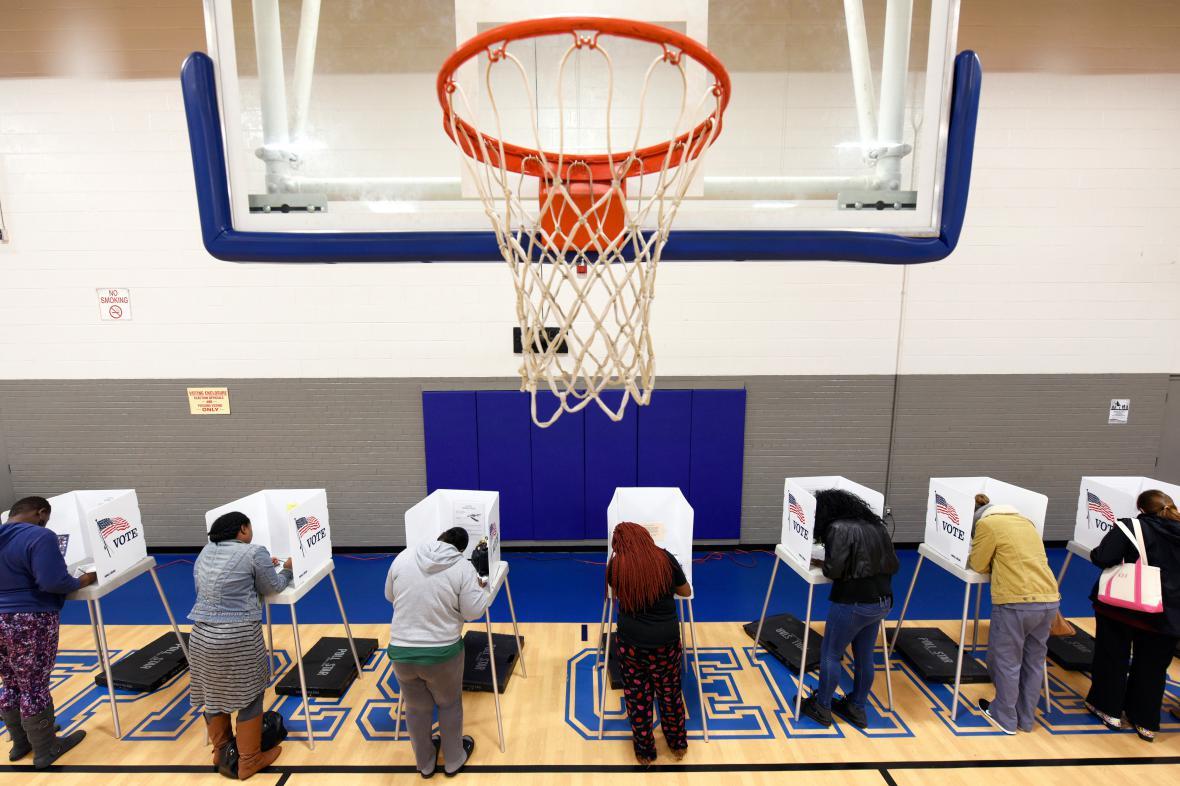 Volby v Greenville v Severní Karolíně