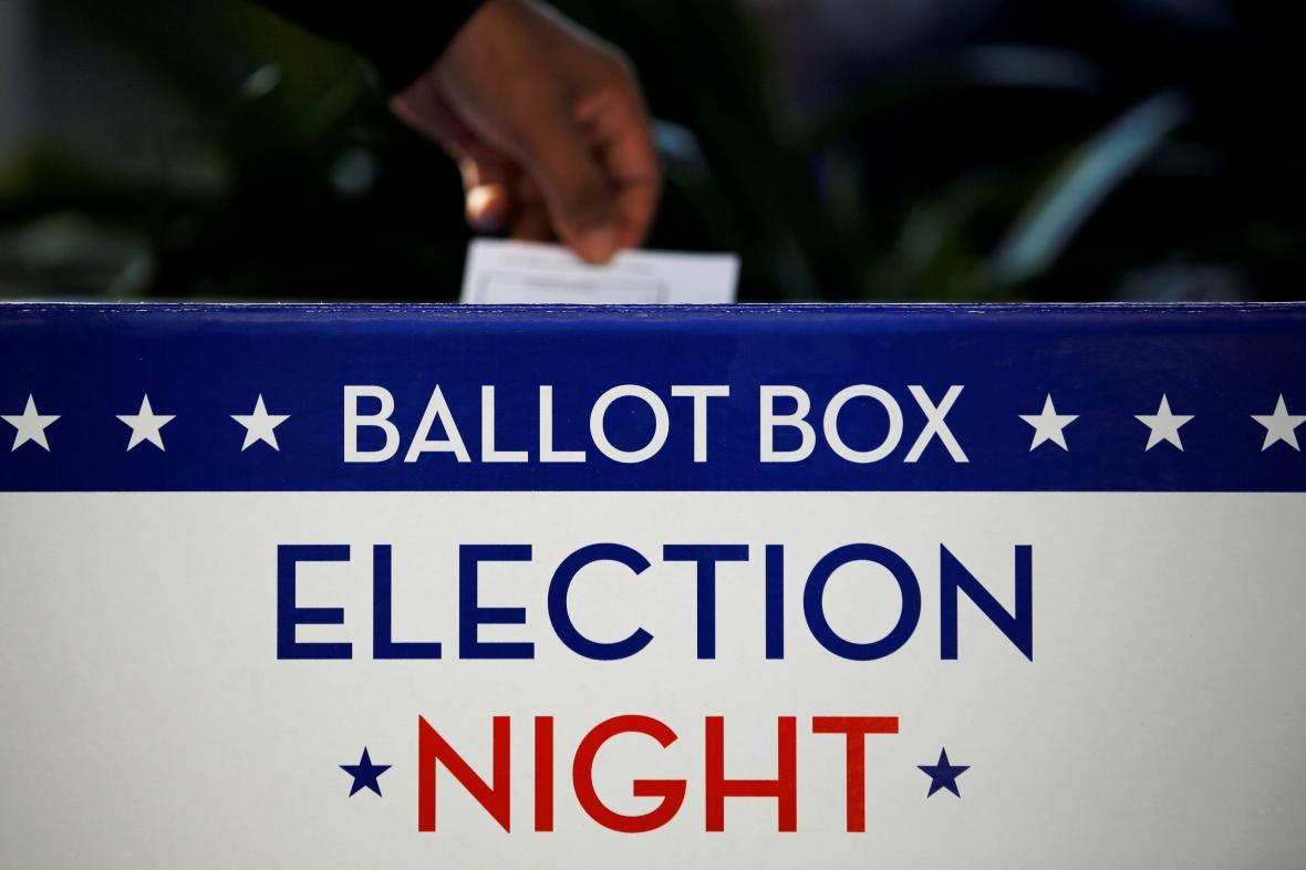 Hlasování v amerických volbách