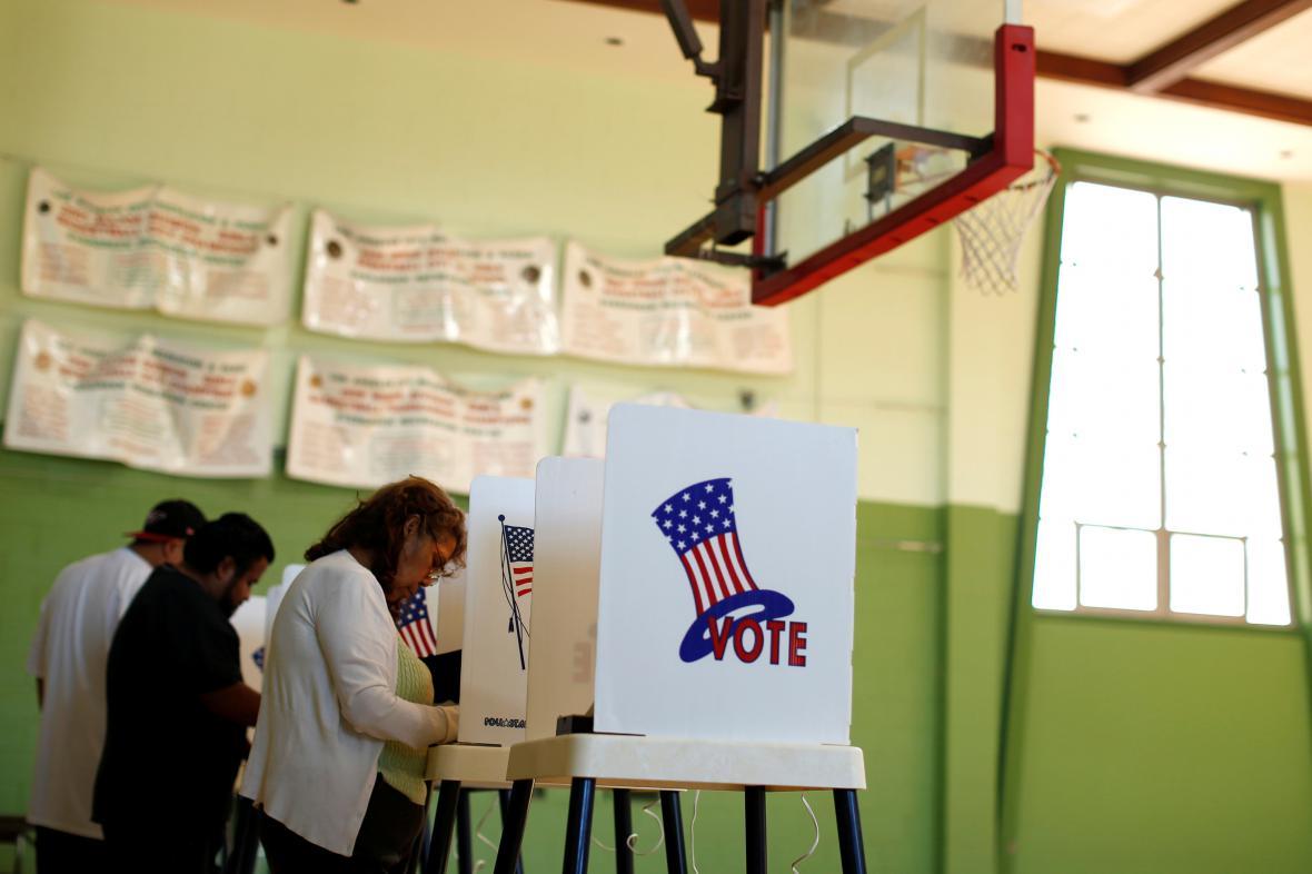 Voliči v Los Angeles