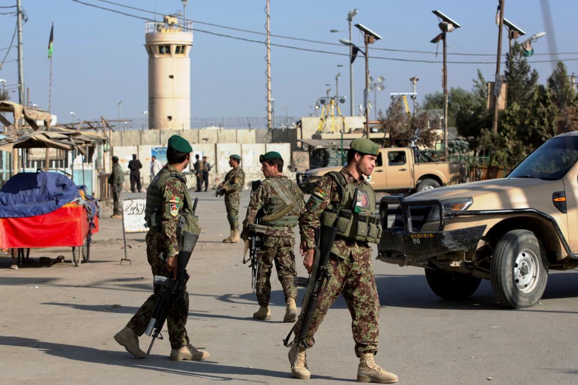 Spojenecká základna Bagrám v Kábulu
