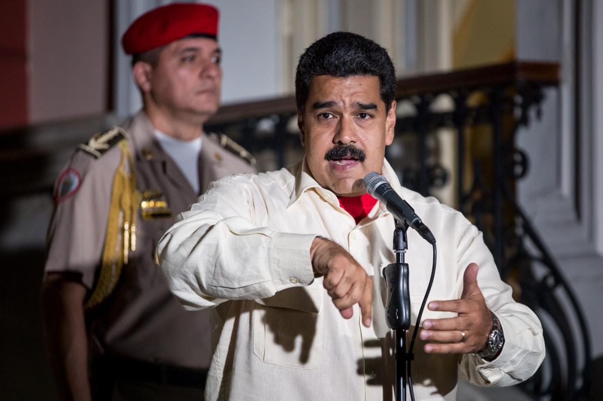 Prezident Venezuely Nicolas Maduro