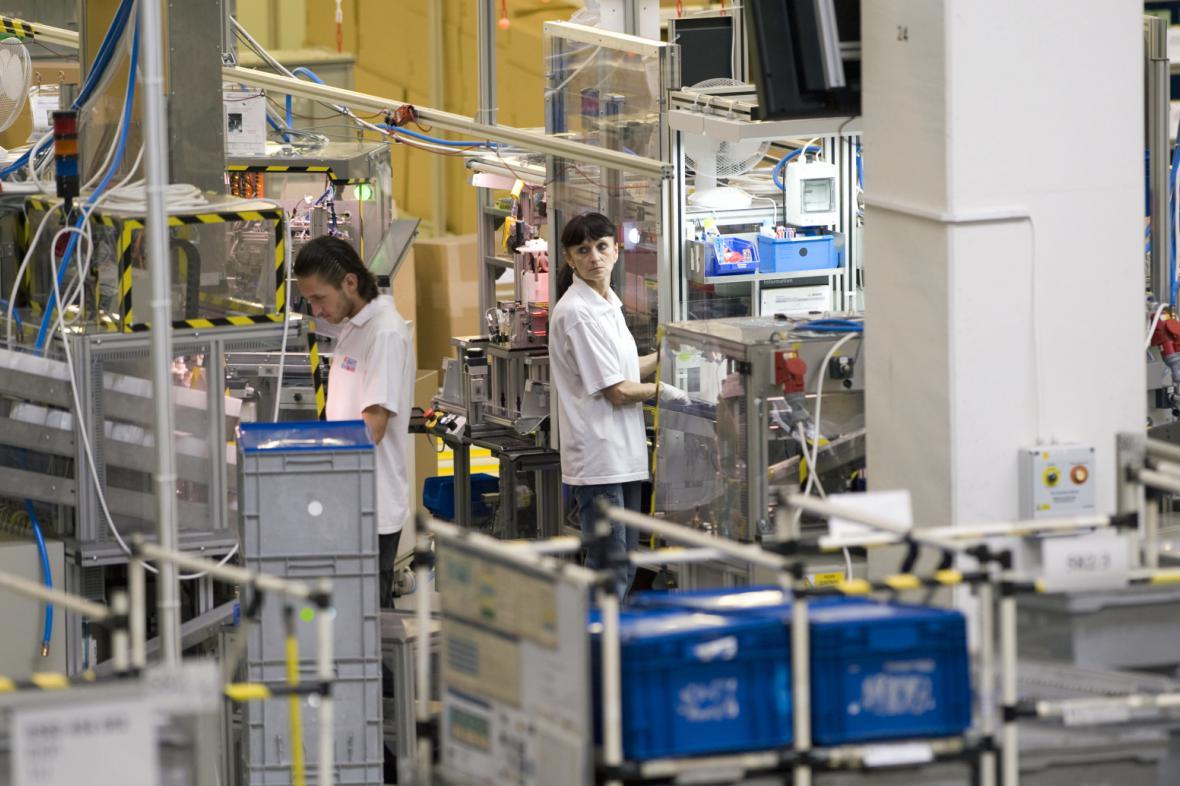 Výrobní hala firmy Robert Bosch (na snímku z roku 2012)