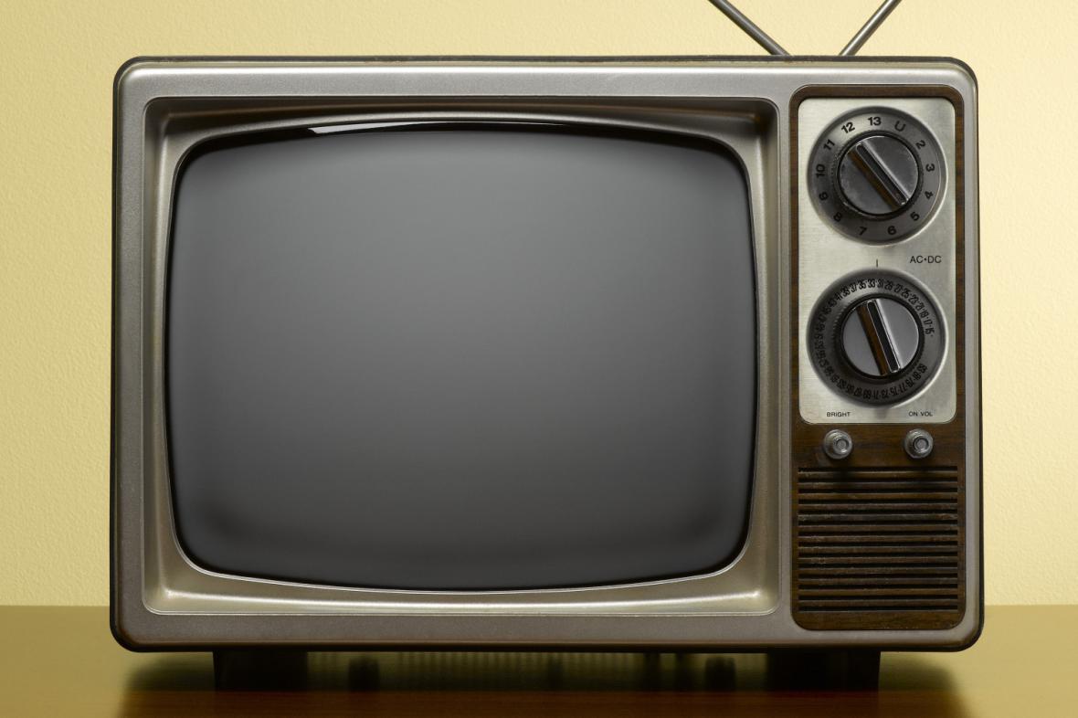 Starý televizní přijímač