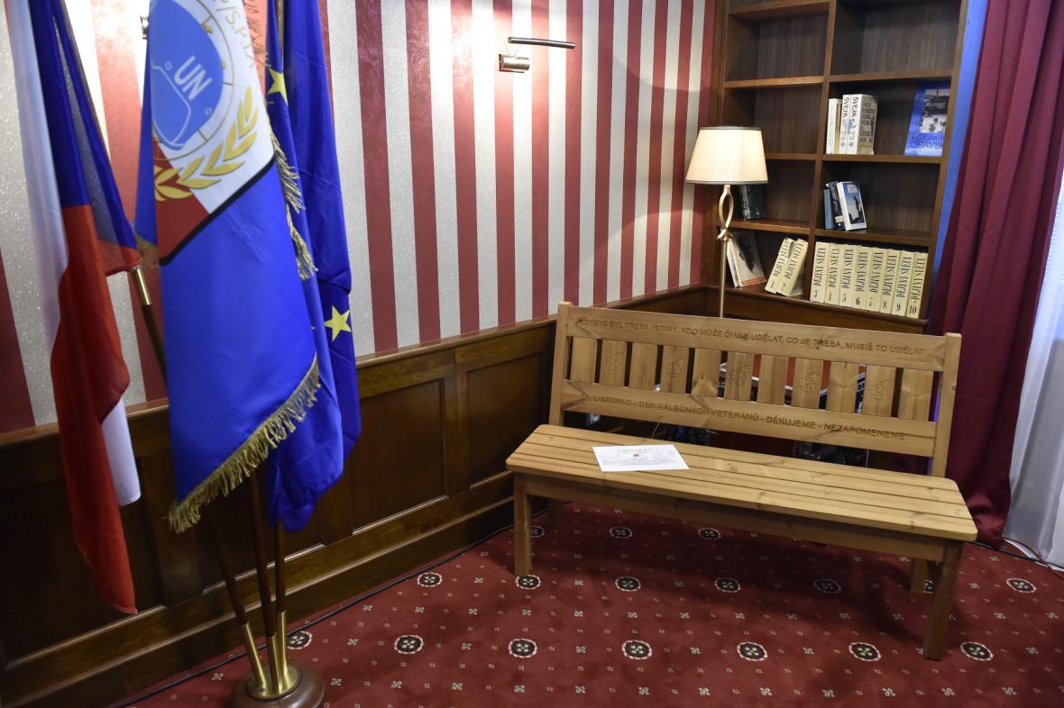 Interiér komunitního centra pro válečné veterány