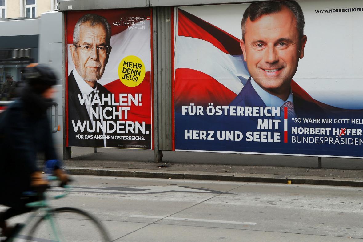 Rakouská předvolební kamapaň
