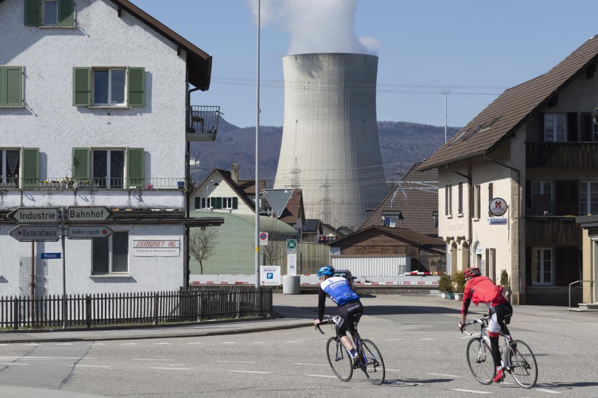 Švýcarská jaderná elektrárna Gösgen
