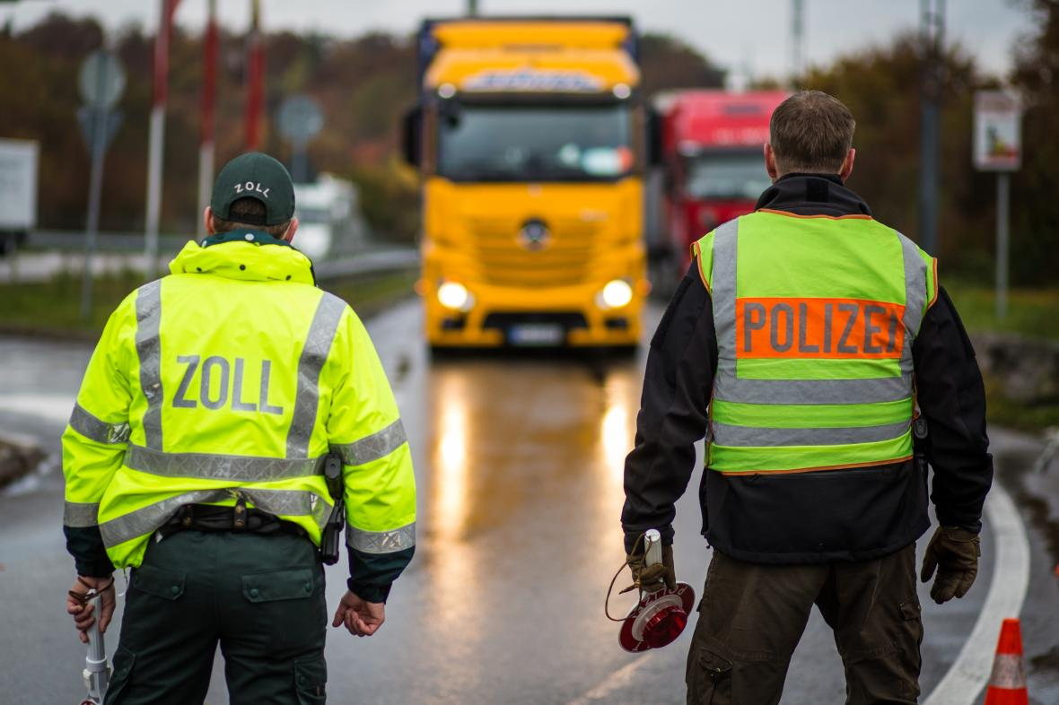 Kontroly na německých hranicích