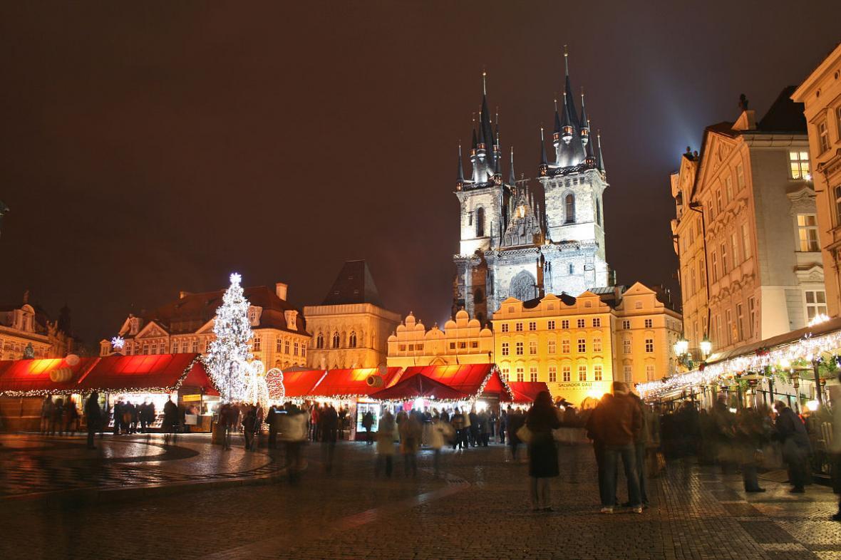 Noc v Praze